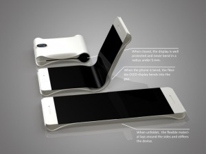 HTC flexible device